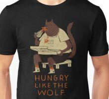 hungry like the wolf(black) Unisex T-Shirt