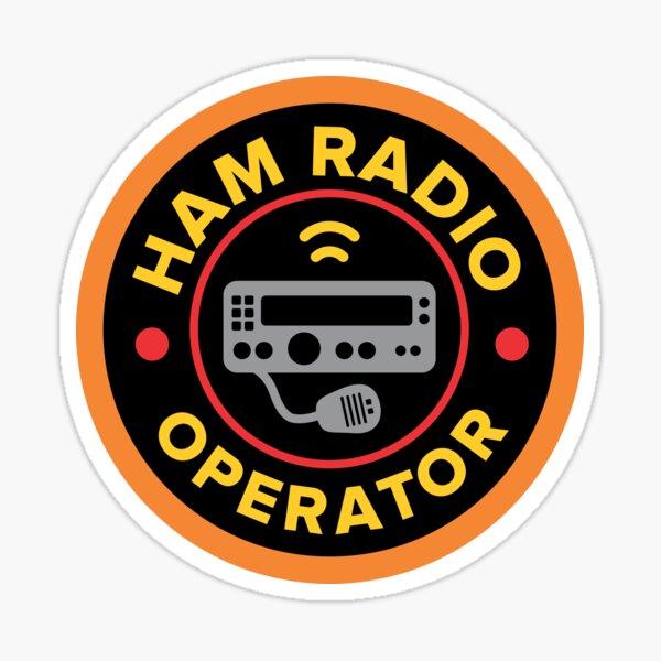 Calcomanía de operador de radioaficionado aficionado Pegatina