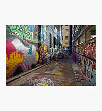 Urban Colour Photographic Print