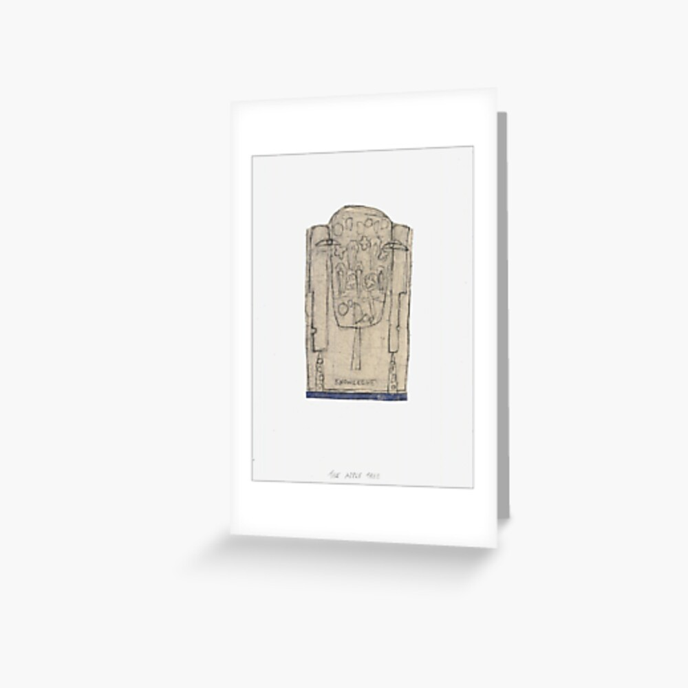 The Tree of Knowledge Greeting Card