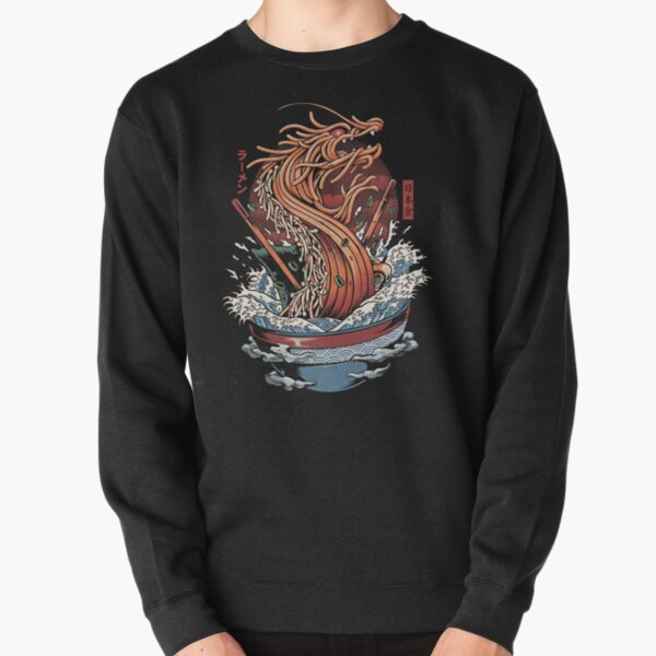 Ramen Dragon Pullover Sweatshirt