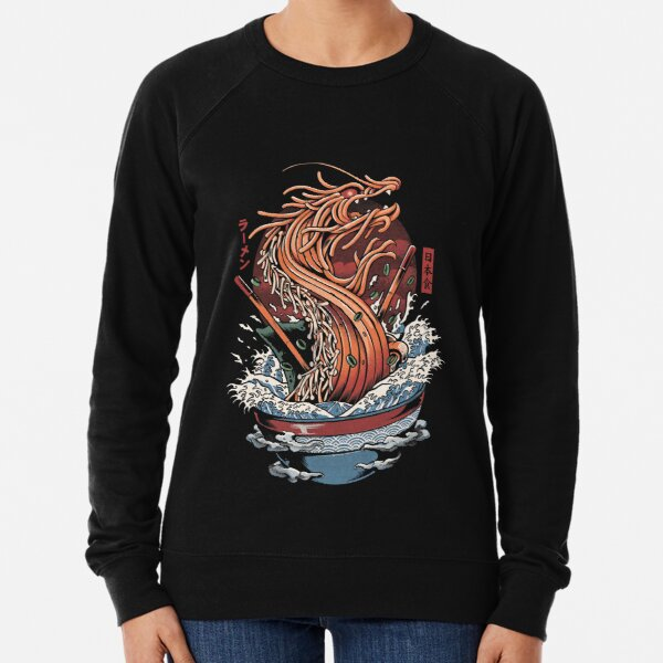 Ramen Dragon Lightweight Sweatshirt