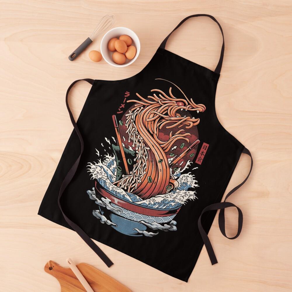 Ramen Dragon Apron