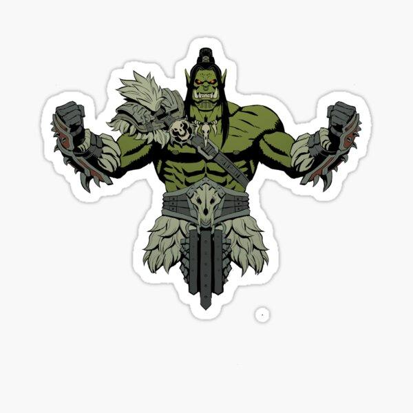 Warsong Chieftain Sticker