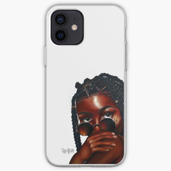 BrownSkinGirl iPhone Soft Case