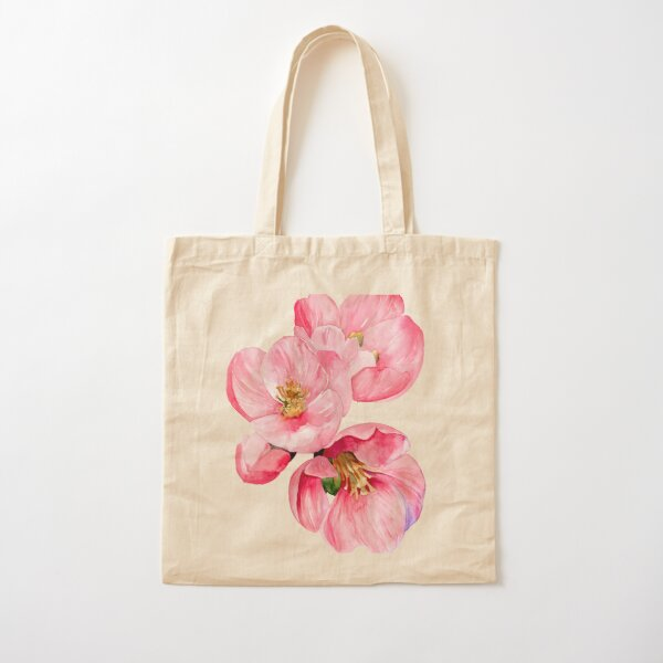 Quince Cotton Tote Bag