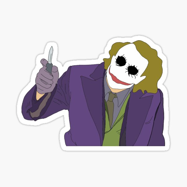 Dark Knight Joker Sticker