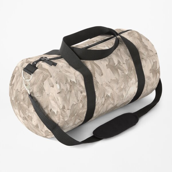 Autumn leafs Pale Duffle Bag