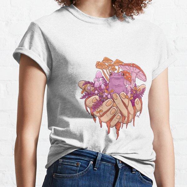Sapphic Toadstool Frog Handful Classic T-Shirt