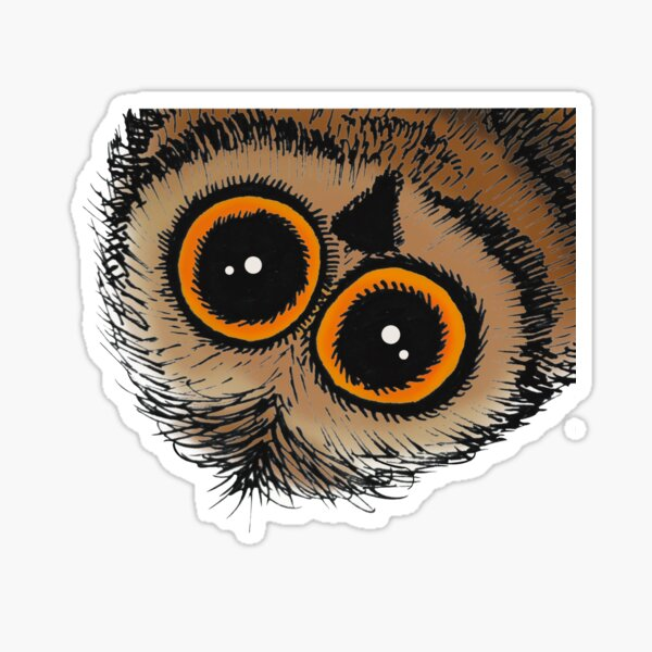 """Hoot the Owl dropping in to say """"Hello"""" Sticker"""