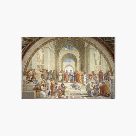 The School of Athens, Raphael Masterpiece Art Board Print