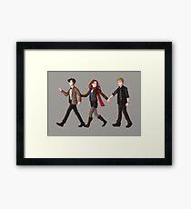 Team TARDIS Framed Print