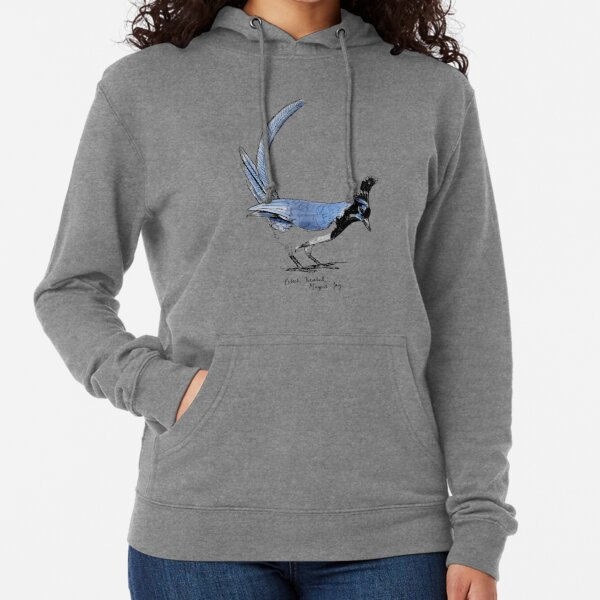Black-Throated Magpie-Jay Lightweight Hoodie