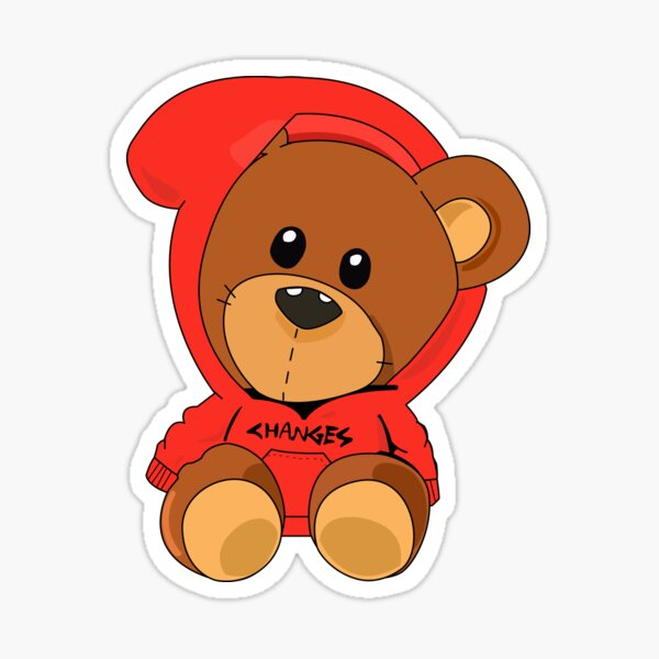 changes bear Sticker