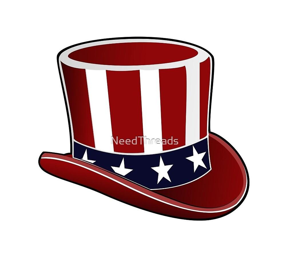 Patriotic Hat by NeedThreads