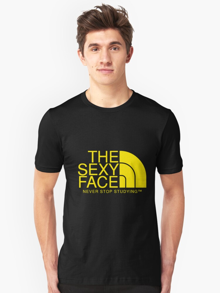 THE SEXY FACE Unisex T-Shirt Front