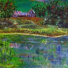 Landscape in Green by Alexey Yarygin