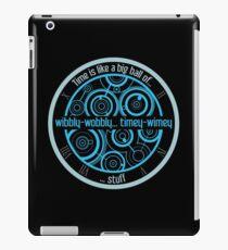 timey-wimey iPad Case/Skin