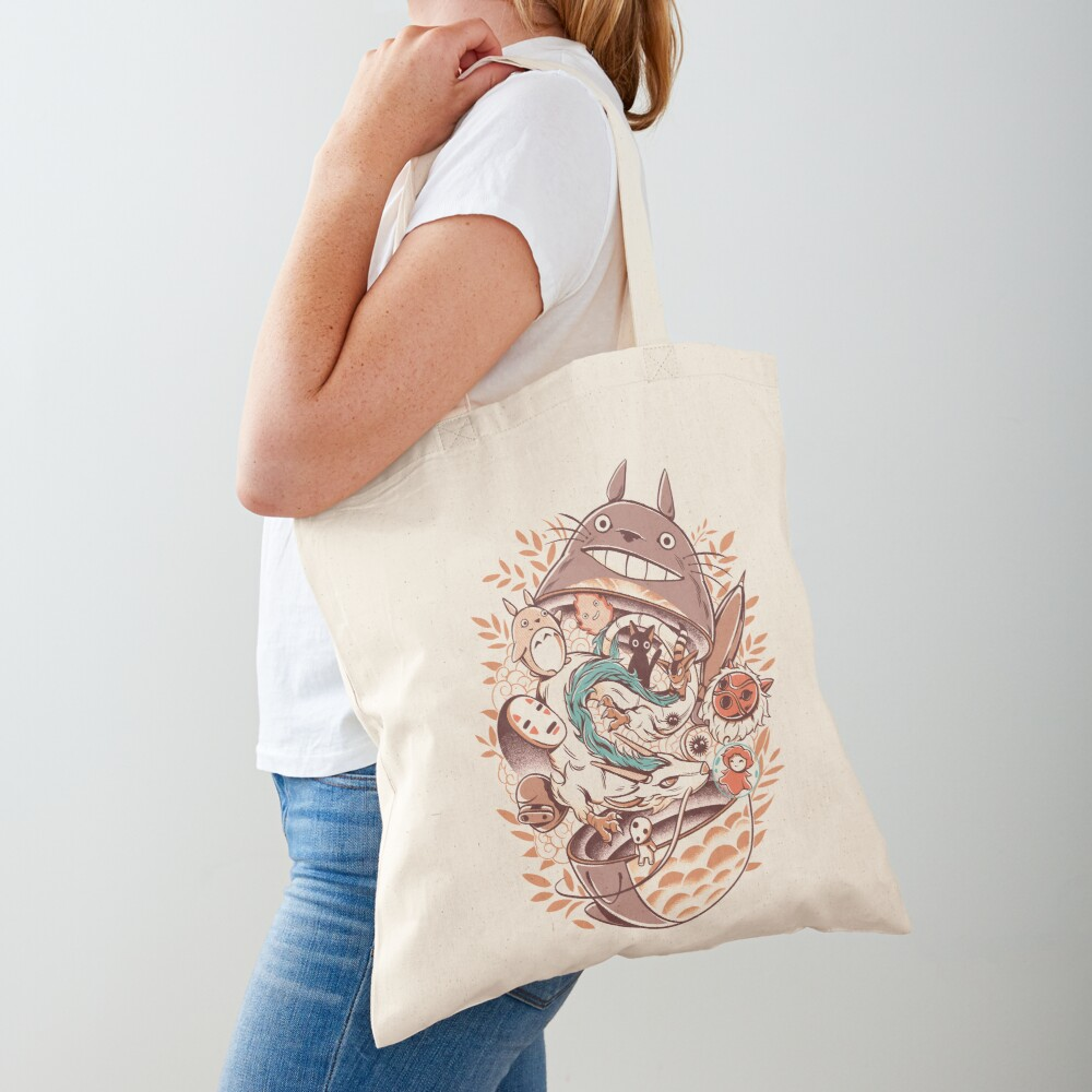 My Neighbor matryoshka Tote Bag