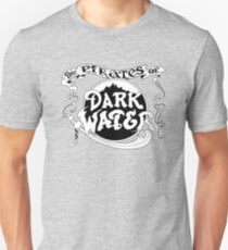 Pirates of Dark Water - b&w logo Unisex T-Shirt