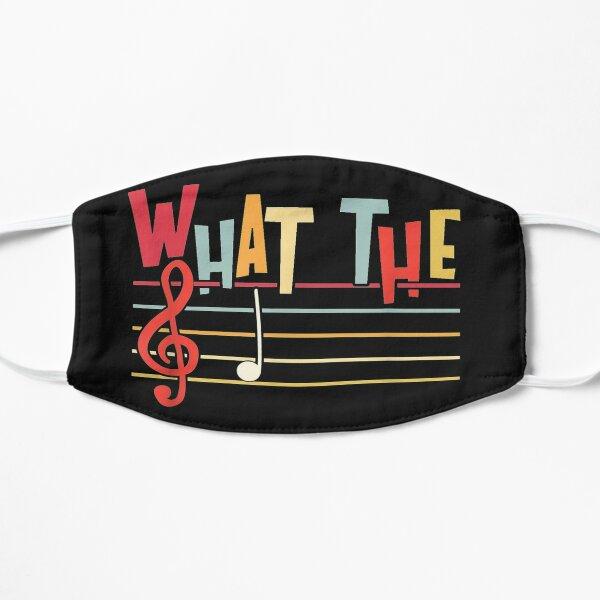 Musique de What The F Funny Clef Note Masque sans plis