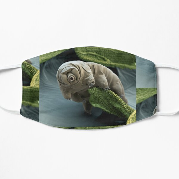 Water Bear or Tardigrade Under the Microscope Mask