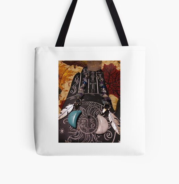 crafty witch  All Over Print Tote Bag