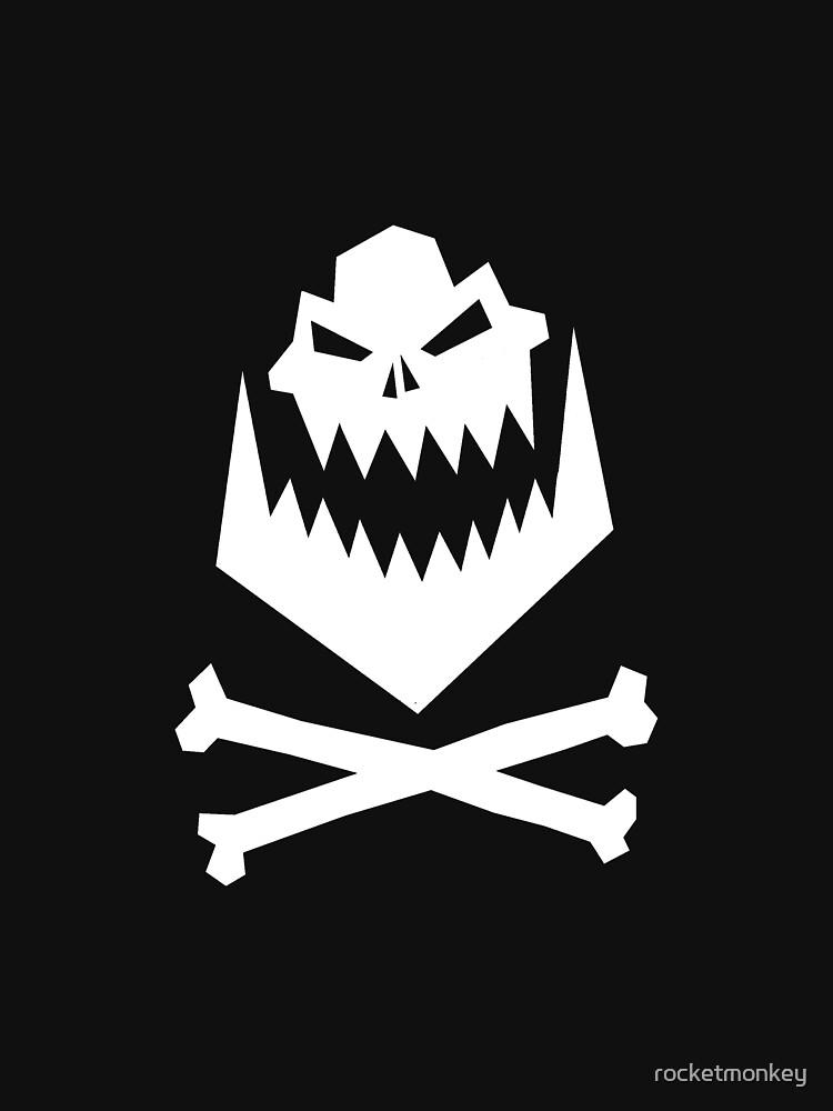 Orc Skull & Crossbones by rocketmonkey