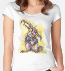 easer bunny Women's Fitted Scoop T-Shirt