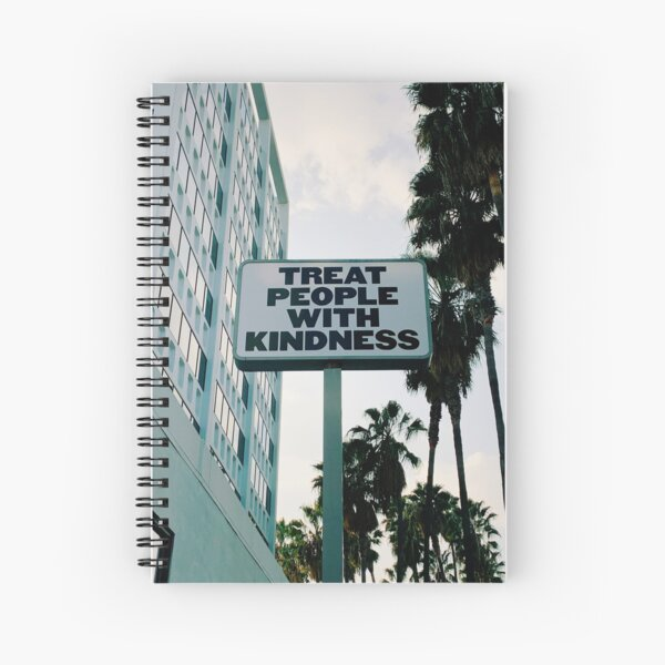 Treat People with Kindness Spiral Notebook