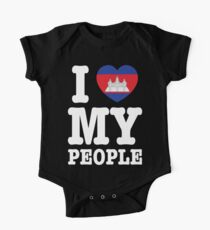 I Heart (Love) My Khmer People Kids Clothes