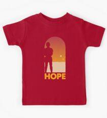 Hope - Tatooine's New Hope! Kids Tee