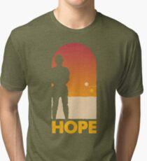Hope - Tatooine's New Hope! Tri-blend T-Shirt