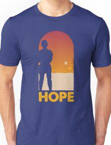 Hope - Tatooine's New Hope! Unisex T-Shirt