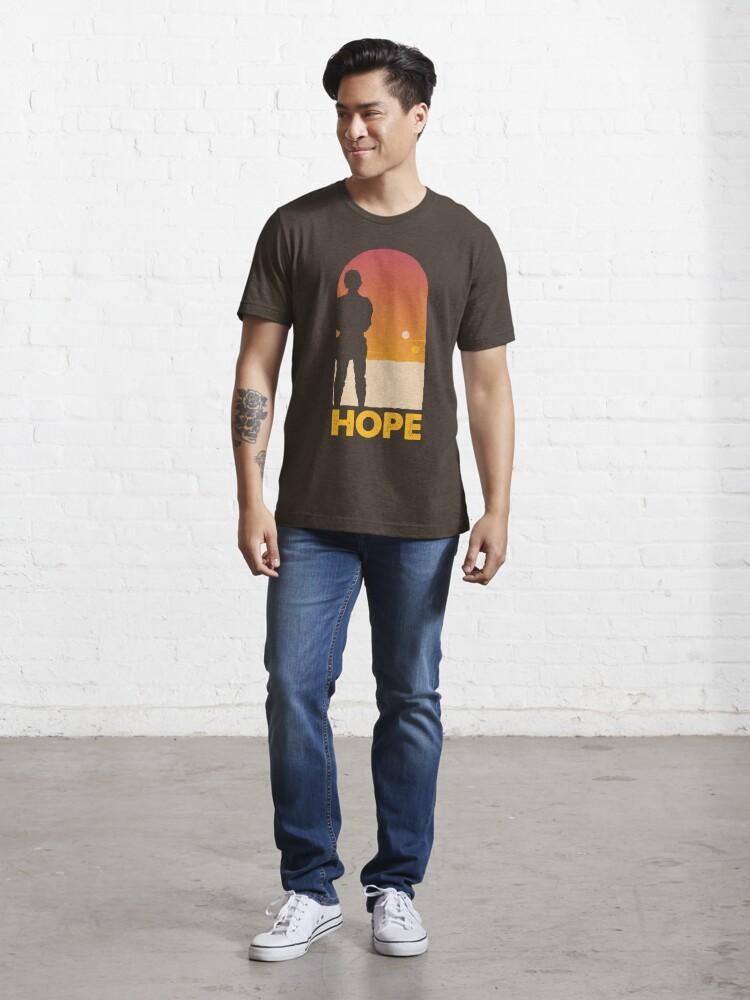 Alternate view of Hope - Tatooine's New Hope! Essential T-Shirt