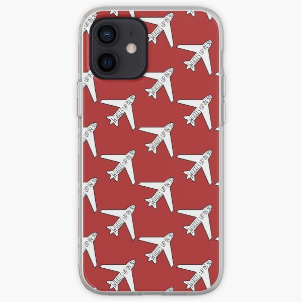 """""""Wheels Up in 30"""" Airplane- Criminal Minds iPhone Soft Case"""