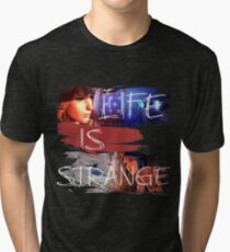Strange-3 Tri-blend T-Shirt