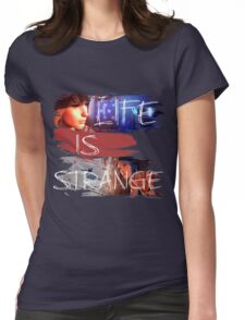 Strange-3 Womens Fitted T-Shirt