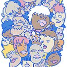 Faces by cs3ink