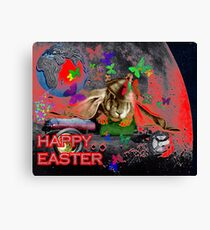 Happy Easter. Canvas Print