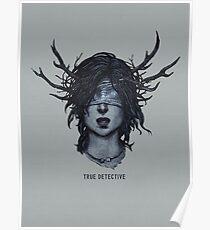 True Detective art Poster