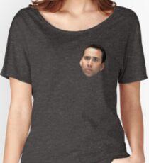 Nicolas Cage Loose Fit T-Shirt