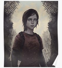 The Last Of Us Ellie Poster