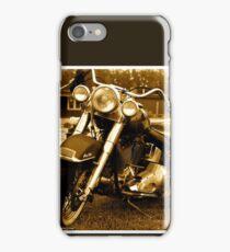 My friend the wind - Harley Davidson. by Andrzej Goszcz. iPhone Case/Skin