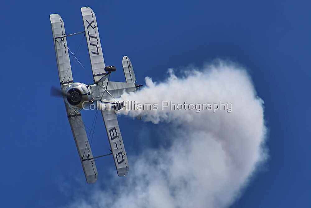 Bücker Bü 133 Jungmeister Smokin !! - Shoreham - 2013 by Colin  Williams Photography