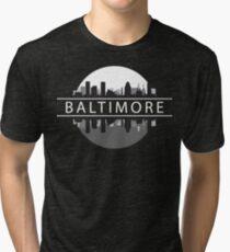 Baltimore Maryland Tri-blend T-Shirt