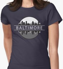 Baltimore Maryland Women's Fitted T-Shirt