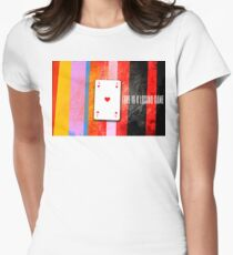 love is a losing game Womens Fitted T-Shirt