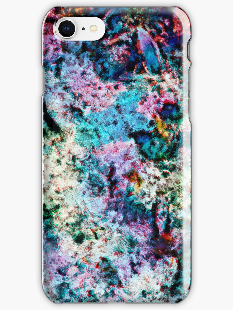 Ice Abstract iPhone Case by Anita Pollak