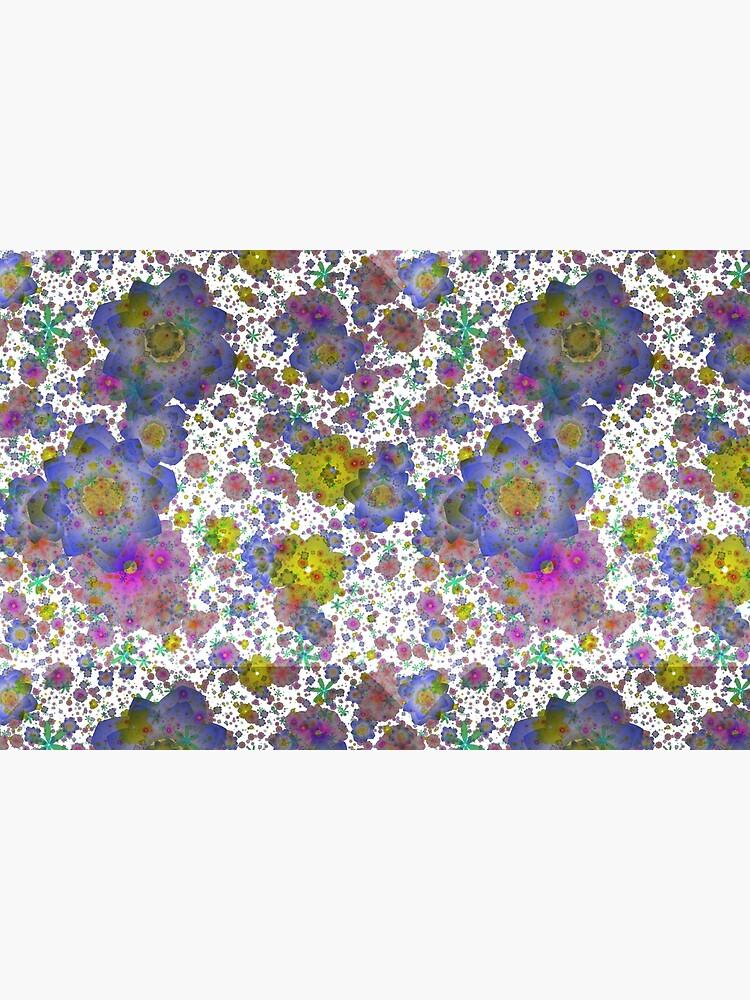 Floral pattern,transparent background by starchim01